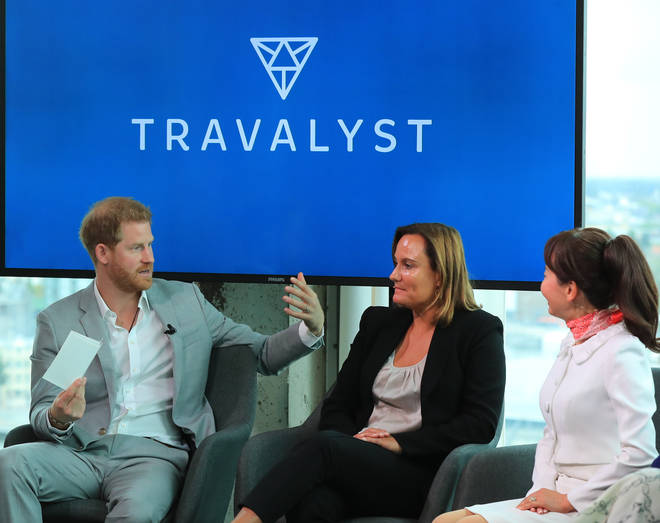 The Duke of Sussex spoke in Amsterdam during the launch of Travalyst