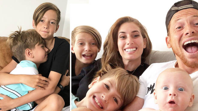 Stacey Solomon's eldest son Zachary is starting secondary school this week