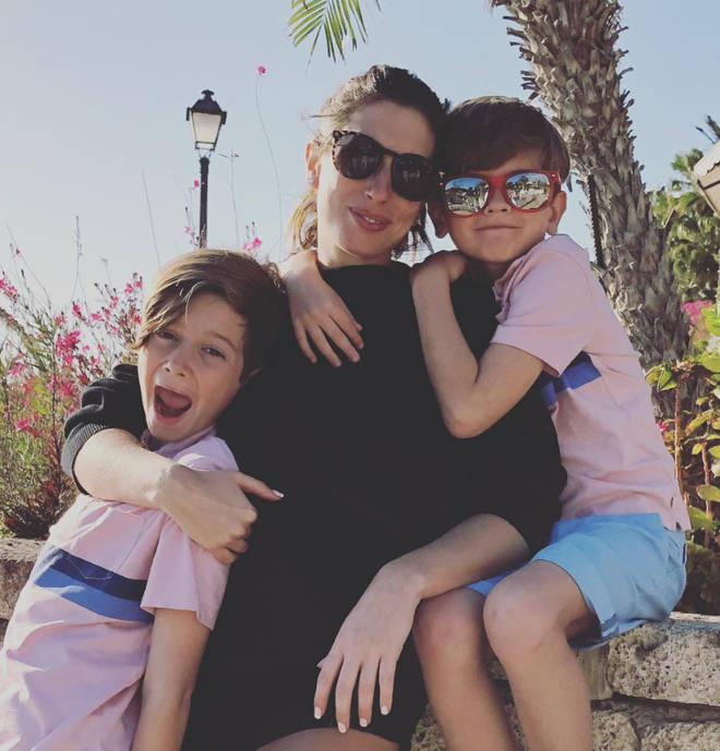 Stacey Solomon has been home schooling her sons Leighton and Zachary for two years