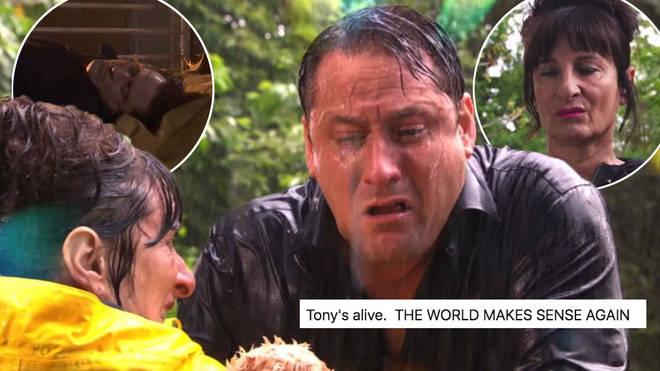 Tony Hutchinson is still alive