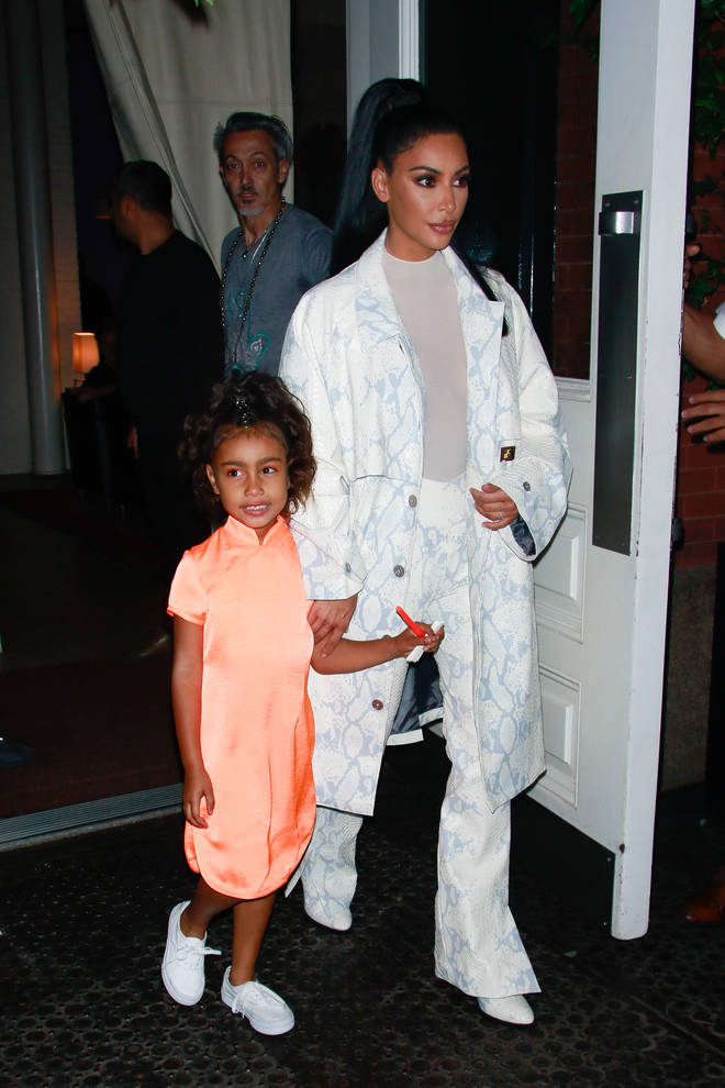 Kim's daughter North is six years old