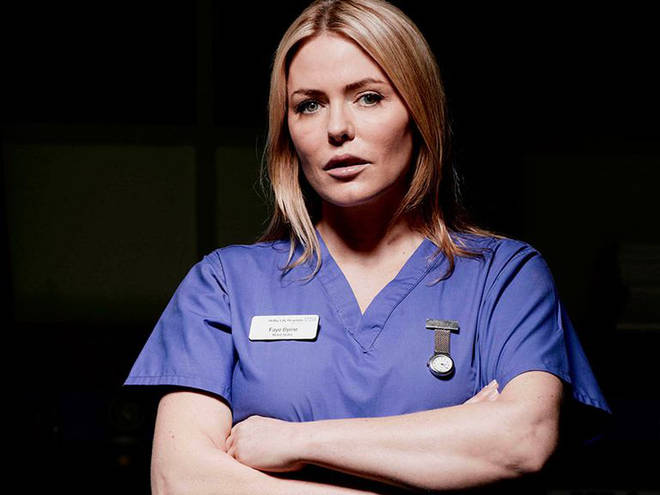 Patsy Kensit was last seen on Holby in December 2010