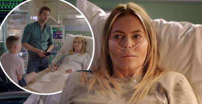 Patsy Kensit is returning as Faye Morton