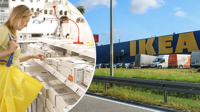 A Glasgow Ikea store went under police guard after teenagers planned a game of Hide and Seek (stock images)
