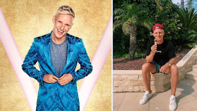 Jamie Laing is a contestant on this year's Strictly Come Dancing