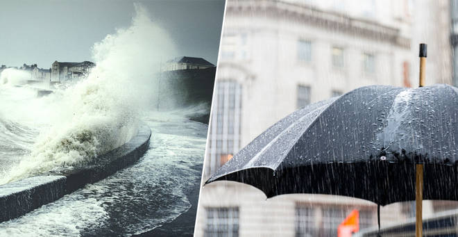 UK weather: Flood warnings as 60mph gales and torrential rain set to thrash Britain
