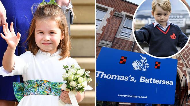 Princess Charlotte will be making a big step this week
