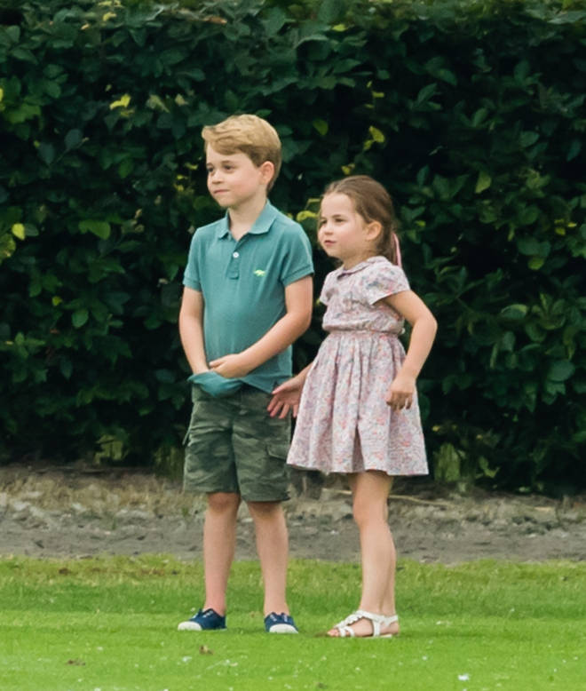 Charlotte will start reception, while Prince George will start year two