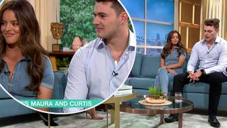 Maura and Curtis appeared on This Morning today