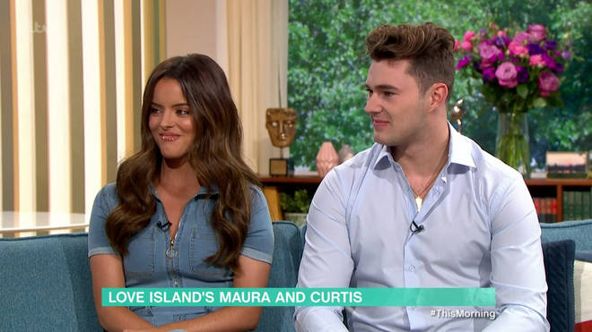 Maura and Curtis spoke about his sexuality on This Morning earlier today