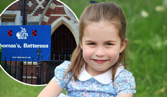 Princess Charlotte will ditch her royal title when at school