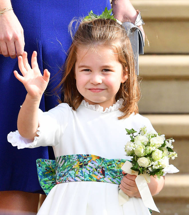 The little Princess will be known as Charlotte Cambridge in her class