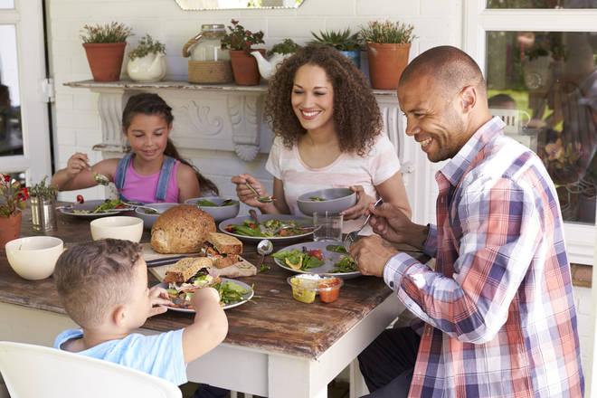 Make dinnertime comfortable for your children