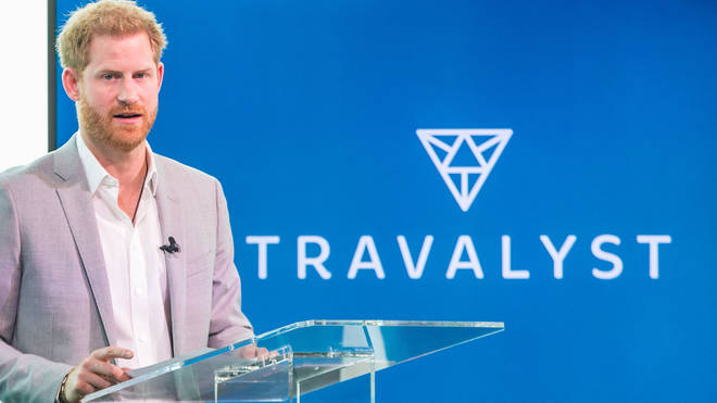 Prince Harry flew commercial to Amsterdam to announce Travalyst