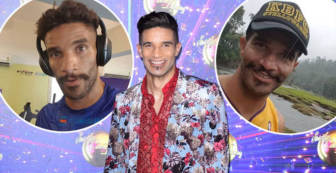 Who is Strictly star David James?