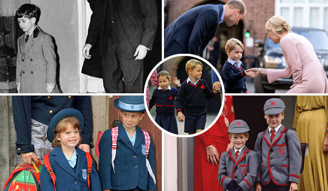 The royal family's first day at school photo album revealed