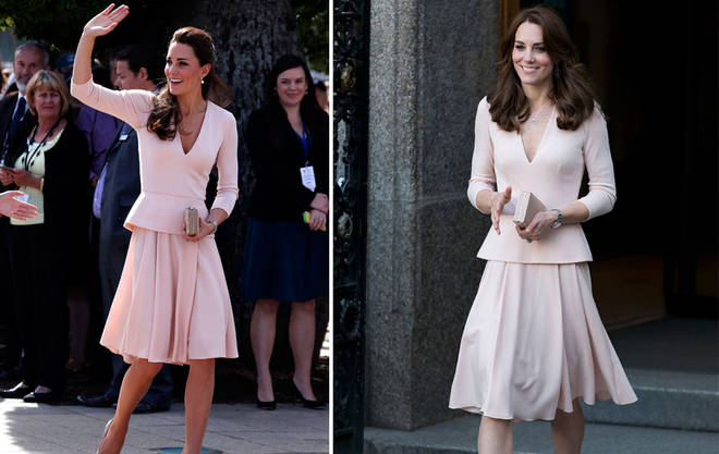 Kate first wore this peplum all the way back in 2011