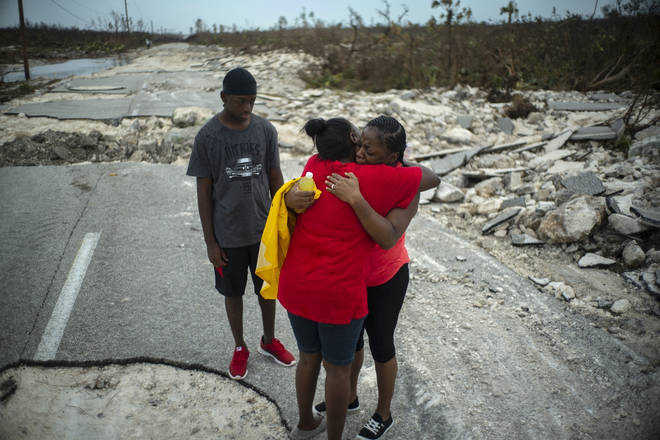 The horrific hurricane has taken many lives in the Bahamas