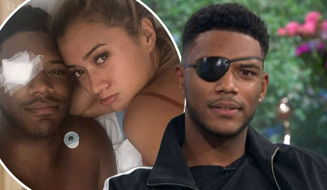 Theo Campbell lost sight in one of his eyes during a champagne party in Ibiza