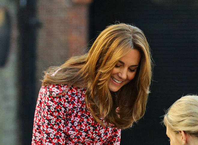 Kate's new hairdo is shorter with highlights and layers framing the face