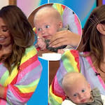 Stacey Solomon returned to Loose Women today