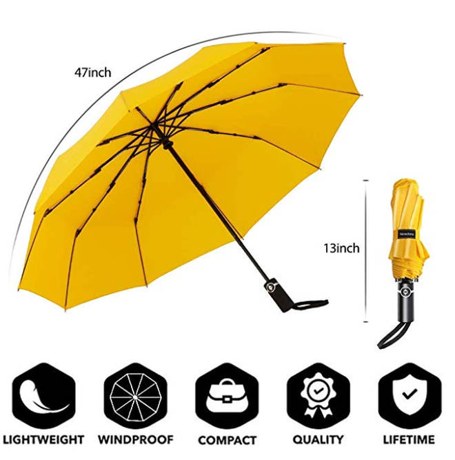 The umbrella is being sold on Amazon