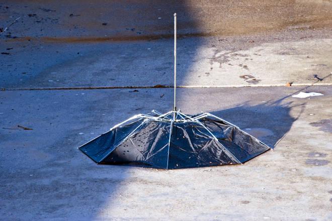 Wave goodbye to temperamental umbrellas... (stock image)