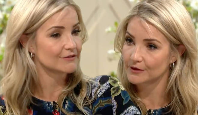 Helen Skelton became a victim of a phone call scammer