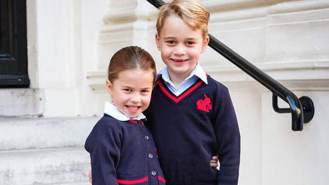 Princess Charlotte and Prince George are now at the same school in south London