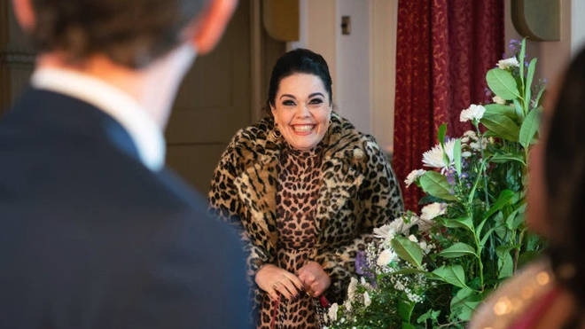 Lisa Riley is returning as Mandy Dingle this week