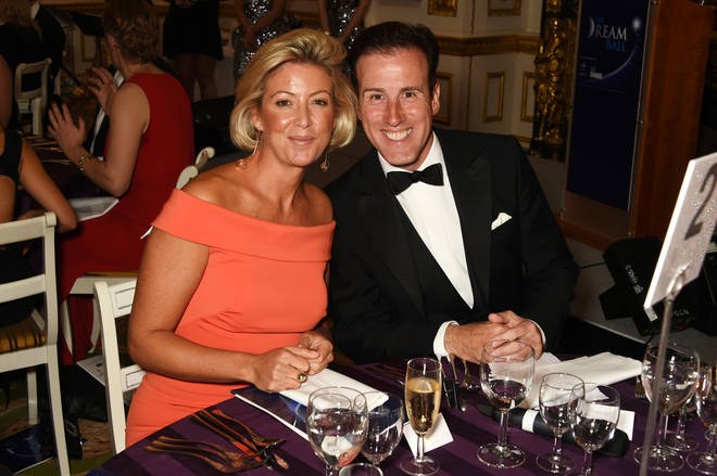 Anton Du Beke and his wife Hannah