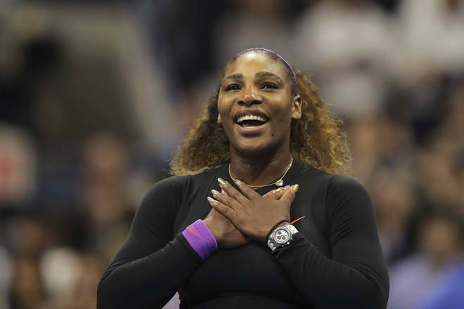 Serena Williams is competing in the final of the US Open