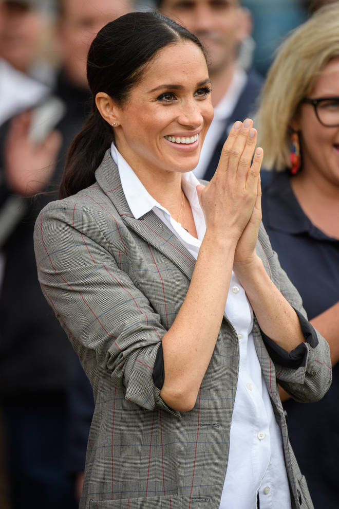 Meghan Markle reportedly travelled alone, leaving Prince Harry and baby Archie in the UK