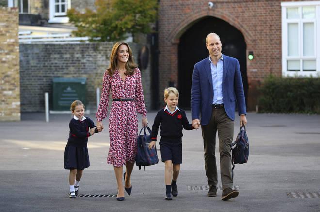 Princess Charlotte started school earlier this week