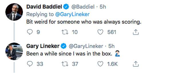 Twitter Gary Lineker