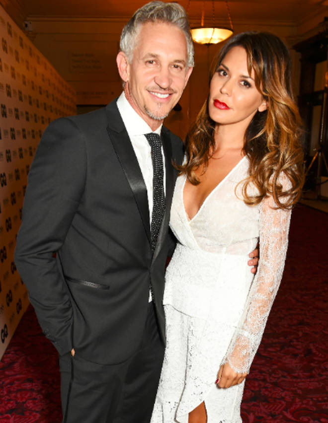 Gary Lineker and Danielle Bux separated in 2016