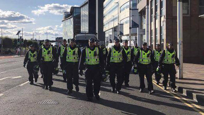 Police Scotland, Glasgow republican marches
