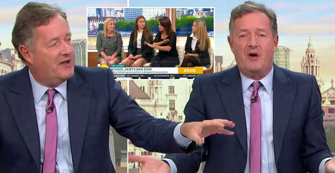 Piers Morgan has hit out at his former school