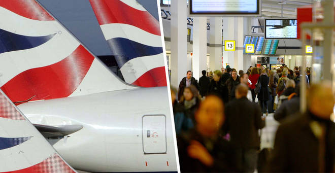 BA has cancelled most of it's flights