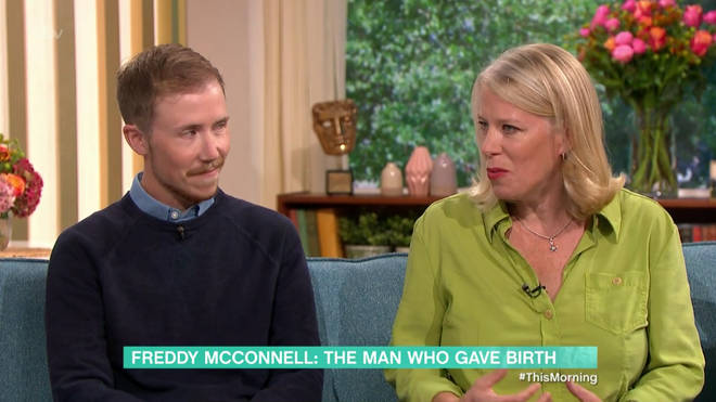 Freddy McConnell appeared on This Morning with his mum