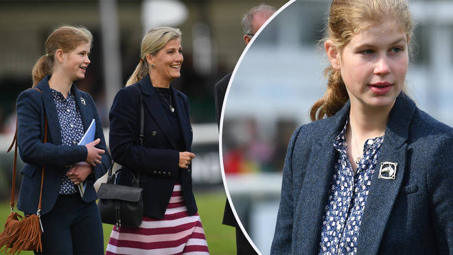 Lady Louise Windsor made a rare public appearance at the weekend