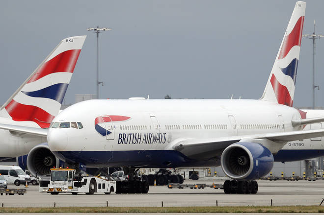 BA pilots are striking after a row over pay