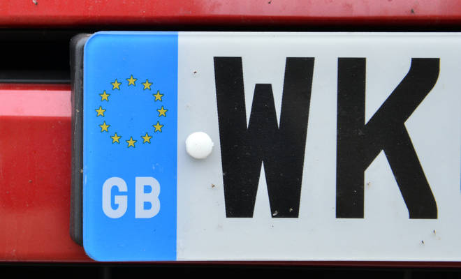 Some dirty numberplate have been automatically banned