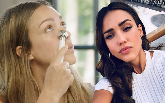 The stunner has revealed one of her top makeup tips