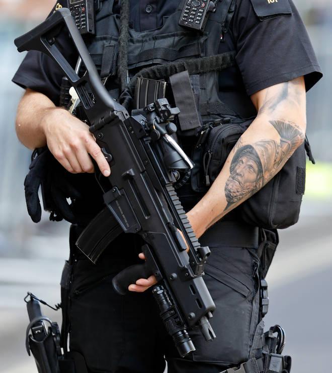 Counter terror police