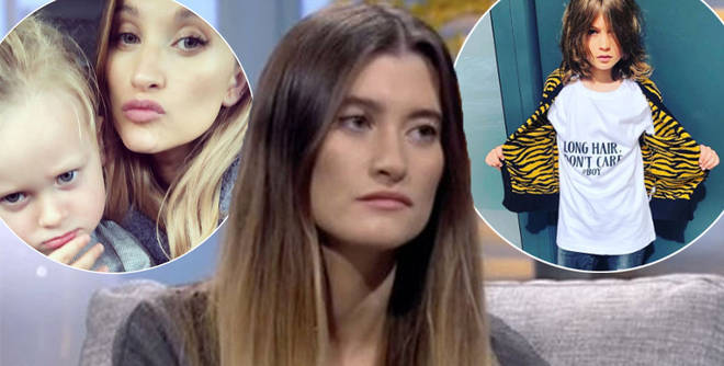 Charley Webb has hit back at critics with a fiery message