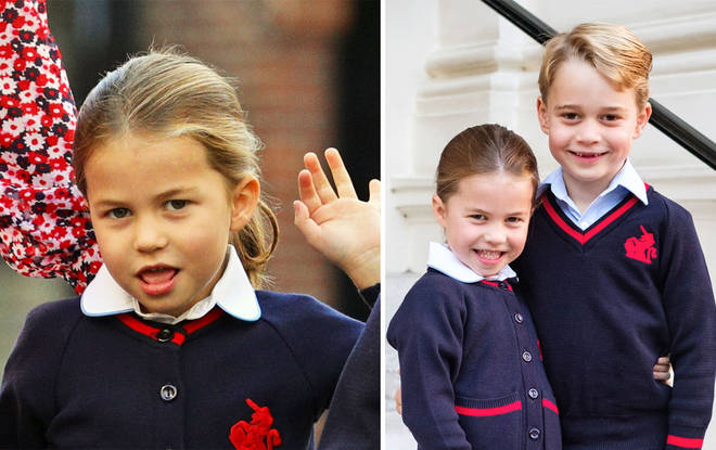 Princess Charlotte is only four but is full of personality