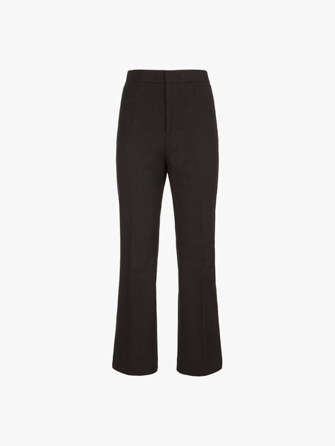 Holly's trousers cost £225 from Fenwick