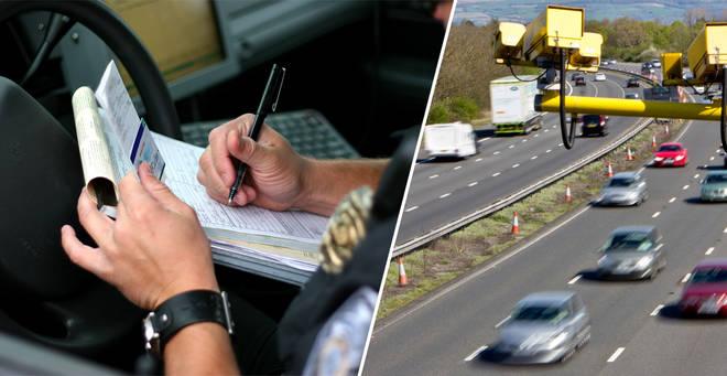 A man has spent £30k on a £100 speeding fine
