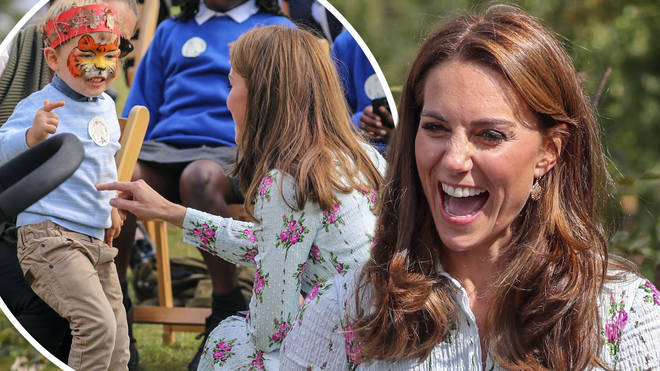 One child had a very cheeky response to Kate Middleton